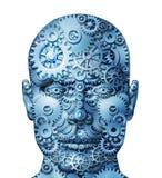 Mänsklig maskin vektor illustrationer