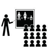 mänsklig reproduktion vektor illustrationer