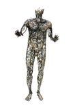 Mänsklig staty för cirkulations- system arkivfoto