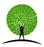 mänsklig tree Fotografering för Bildbyråer