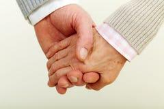 Mänskliga händer Arkivbilder