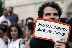 Mänskliga rättigheter Arkivbilder
