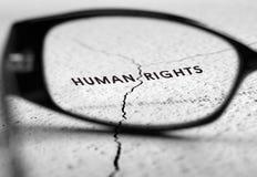 Mänskliga rättigheter Royaltyfria Bilder