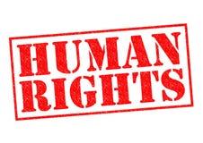 Mänskliga rättigheter Royaltyfria Foton