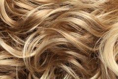 Mänskligt hår arkivfoto