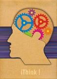 Mänskligt huvud Arkivfoto