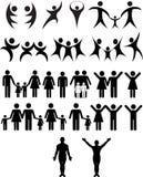 mänskligt symbol Arkivfoto
