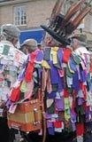 Mäntel vieler Farben lizenzfreies stockbild