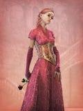 Märchen-Prinzessin, 3d CG vektor abbildung