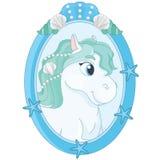 Märchen recht nette Pony Portrait Lizenzfreies Stockbild