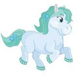 Märchen-recht nettes magisches Pony Stockfotografie