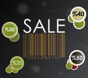 märk försäljningen Stock Illustrationer