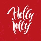 Märka för jul calligraphy Arkivfoton