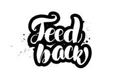 Märka matning tillbaka stock illustrationer