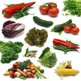märkdukgrönsak arkivbild