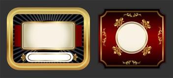 märker red royaltyfri illustrationer