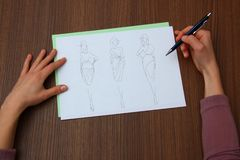 Märkes- bedöma modeteckningar Royaltyfria Foton