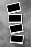 Märkes- begrepp - blanka fotoramar Royaltyfri Fotografi