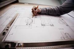 Märkes- teckningstekniker för begrepp Royaltyfria Bilder