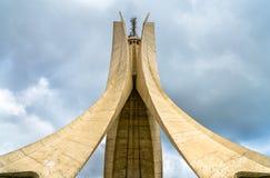 Märtyrer Erinnerungs für die Helden getötet während des algerischen Unabhängigkeitskriegs algiers stockfotografie