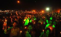 Märtyrer-Tag in Gaya, Bihar, Indien lizenzfreie stockfotos