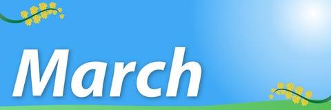 März Lizenzfreies Stockfoto