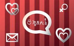 8. März Lizenzfreies Stockfoto