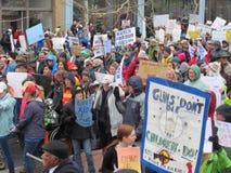 März für unsere Leben in Asheville Stockfotos