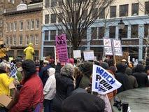 März für unsere Leben in Asheville Stockfoto