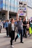 März für unsere Leben - Denver Lizenzfreies Stockfoto