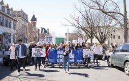 März für unsere Leben in Doylestown, PA USA Stockfotos