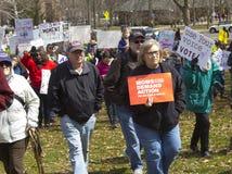 März für unsere Leben in Hartford Connecticut Stockbild