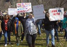 März für unsere Leben in Hartford Connecticut Lizenzfreie Stockfotografie