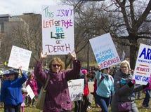 März für unsere Leben in Hartford Connecticut Lizenzfreies Stockbild