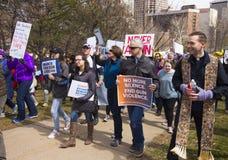 März für unsere Leben in Hartford Connecticut Stockbilder