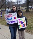 März für unsere Leben in Hartford Connecticut Stockfotografie
