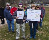 März für unsere Leben in Hartford Connecticut Lizenzfreies Stockfoto