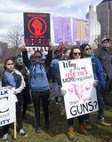 März für unsere Leben in Hartford Connecticut Stockfoto