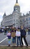 März für unsere Leben in Hartford Connecticut Stockfotos