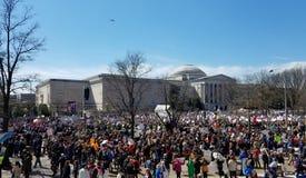 März für unsere Leben im März, 24 in Washington, DC Lizenzfreie Stockbilder
