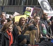 März für unsere Leben, New York Lizenzfreies Stockfoto