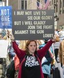 März für unsere Leben, New York Stockfotos