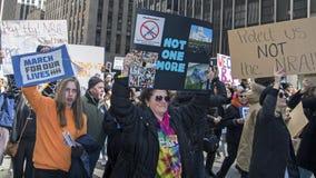 März für unsere Leben, New York Stockbild