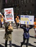 März für unsere Leben, New York Lizenzfreie Stockbilder