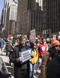 März für unsere Leben, New York Stockfotografie