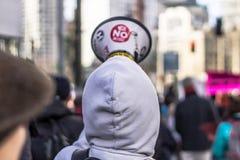 März für unsere Leben Seattle Stockfotografie