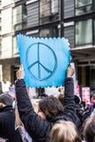 März für unsere Leben Seattle Lizenzfreies Stockfoto