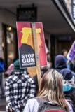 März für unsere Leben Seattle Lizenzfreies Stockbild