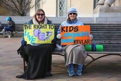 März für unseren Leben-Protest 31, Washington, D C Stockbilder