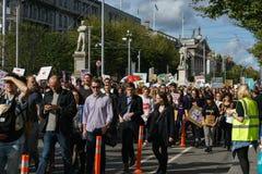 März für Wahl durch die Abtreibung berichtigt Kampagne BOGEN Stockfoto